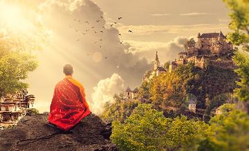 Meditatie dekens