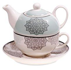 Tea for One mandala motief