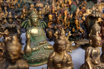 Bronzen miniaturen