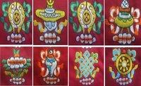 De 8 Tibetaanse voorspoedsymbolen