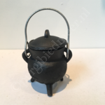 Wierookbrander cauldron ketel 9x8cm
