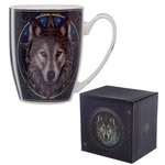 Mok Lisa Parker Wolf Head Design