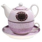 Tea for One mandala motief paars