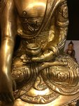 Boeddha 'Shakyamuni' messing 27 cm