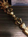 Phurba lang brons