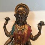 Lakshmi beeld kleur 27cm