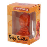 baby buddha oranje