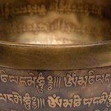 Klankschaal Tibet gegraveerd 400 - 550 gr_