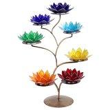 lotus sfeerlicht standaard incl 7 waxine