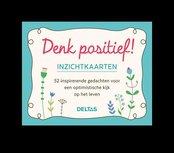 Denk positief inzichtkaarten