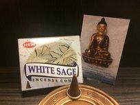 HEM White Sage (witte salie) wierookkegels