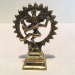 Shiva nataraja dansend brons 7cm