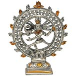 Shiva nataraja dansend messing 15cm