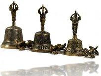 Bel & Dorje klein (brons)