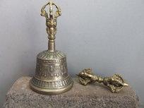 Bel & Dorje middel (brons)