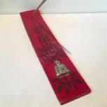 Wierookski plankje boeddha rood