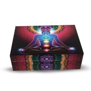 Chakra tarot en of sieraden doos
