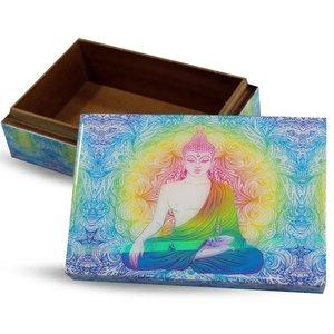 Boeddha tarot en of sieraden doos