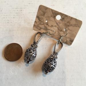 Oorbel zilver India bohemian stijl 15