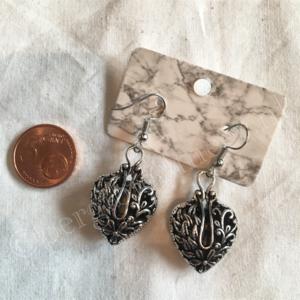 Oorbel zilver India bohemian stijl 13