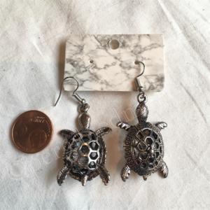 Oorbel zilver India bohemian stijl 8