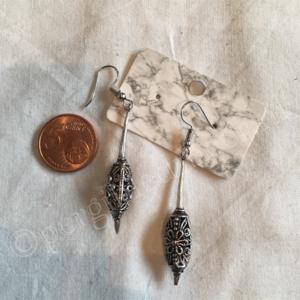 Oorbel zilver India bohemian stijl 6
