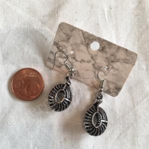 Oorbel zilver India bohemian stijl 2