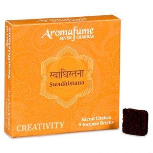 Aromafume 2e Chakra wierookblokjes