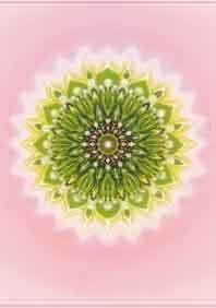 4e -Hart  chakra mandala
