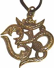 Hanger 'Ohm' brons 3,5cm