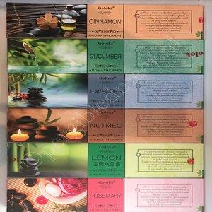 Goloka Aromatherapy wierook set