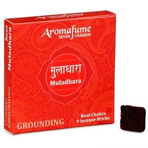 Aromafume 1e Chakra wierookblokjes