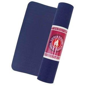 Yogi & Yogini 100% TPE yogamat - indigo/grijs