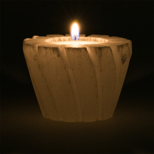 Seleniet sfeerlicht lotus voor waxinekaarsje