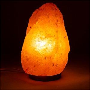 Himalaya Zoutlamp ruw 4 tot 6 kilo met ledlamp