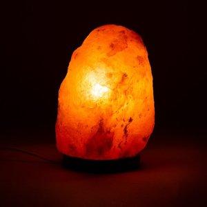 Himalaya Zoutlamp ruw 2 tot 3 kilo met ledlamp