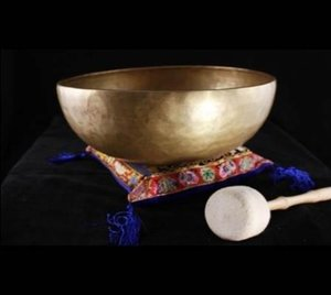 Klankschaal Nepal ca 425-475gr 12cm