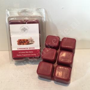 Cinnamon Spice waxmelts 6x80gram