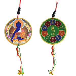 Beschermhanger Medicijn Boeddha & Dorje