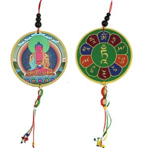 Beschermhanger Amithaba & Dorje