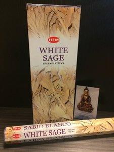 HEM White Sage (witte salie) wierook hexagram