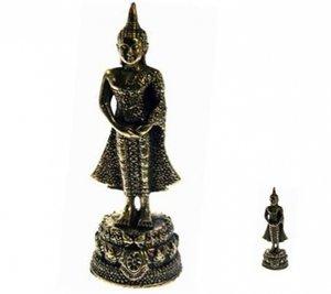 Geboortedagboeddha Zondag 6cm/brons