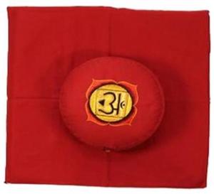 1ste Chakra meditatie set rood Stuit/Muladhara