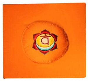 2de Chakra meditatie set oranje Heiligbeen/Swadhishthana