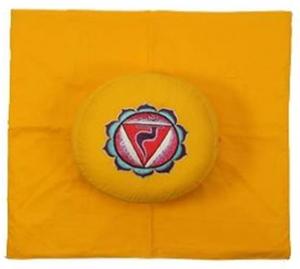 3de Chakra meditatie set geel Zonnevlecht/Manipura
