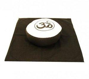 Meditatieset Ohm creme/zwart