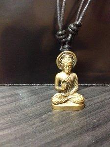 Hanger 'Boeddha Onderwijzend' brons 3cm