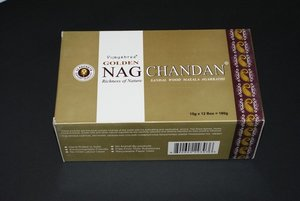 Agarbathi Golden  Nag Chandan