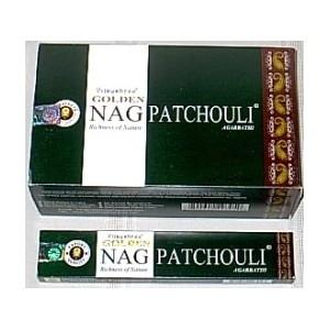Agarbathi Golden Nag Patchouli