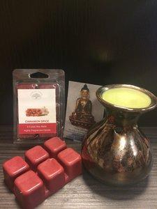 Cinnamon Spice - waxmelts 6x80gram